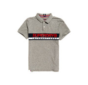Superdry Polo Chestband Grijs (M11011RT - KVX)