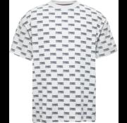 Tommy Hilfiger T-shirt Logo print Wit (DM0DM06085 - 100)
