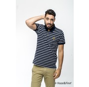 Haze & Finn Polo Navy White (MC11-0301)