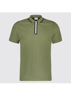 Blue Industry Polo Rits Army (KBIS19 - M30 - Army)