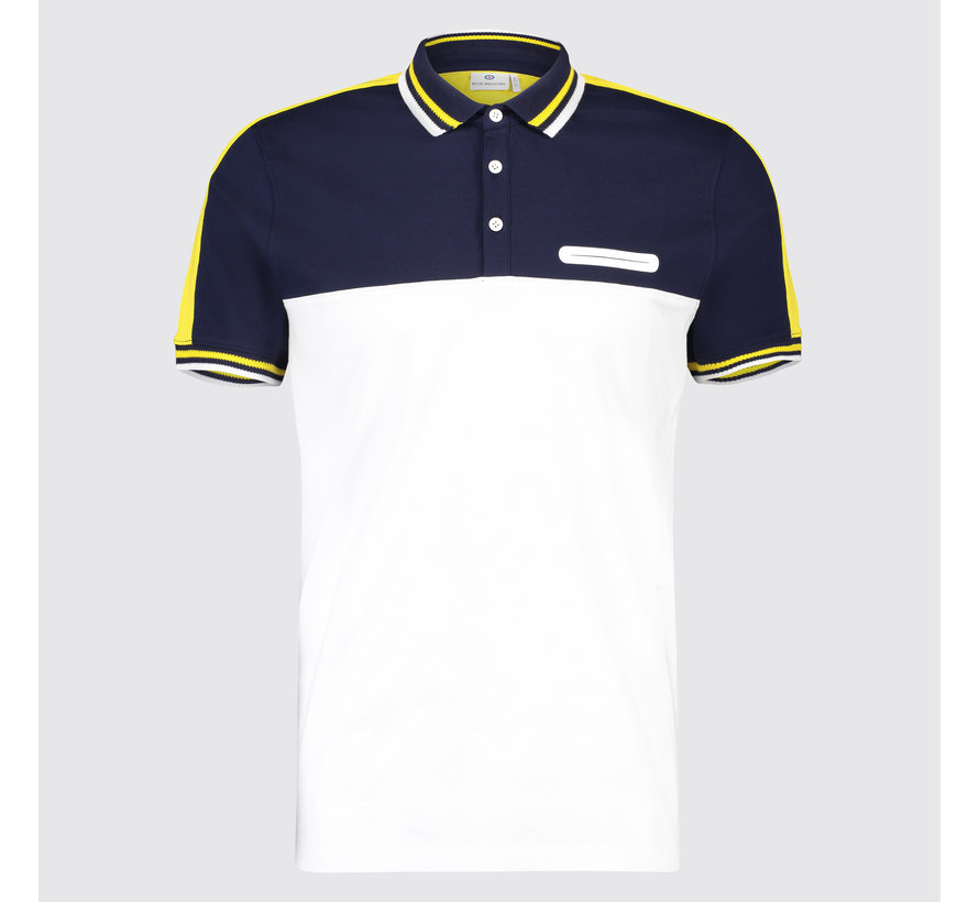 Polo multicolor Navy (KBIS19 - M33 - Marine)