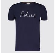 Blue Industry T-shirt logo Blue Navy (KBIS19 - M40 - Navy)