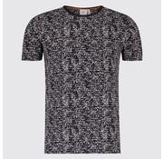 Blue Industry T-shirt print Tekst Navy (KBIS19 - M42 - Navy)