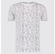 Blue Industry T-shirt print Tekst Wit (KBIS19 - M42 - White)