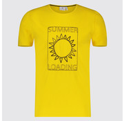 Blue Industry T-shirt Summer Geel (KBIS19 - M48 - Yellow)