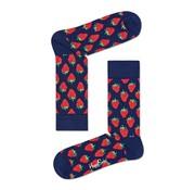 Happy Socks 1pack sokken strawberry navy (STB01-6000)