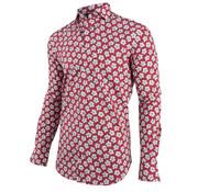 Cavallaro Napoli Overhemd Rico Rood (1091008 - 40636)