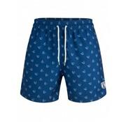 Cavallaro Napoli Fillipo Swim Shorts Scuba Diep Blauw (4891001 - 62103)