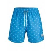 Cavallaro Napoli Fillipo Swimshort Scuba Blauw (4891001 - 62103)