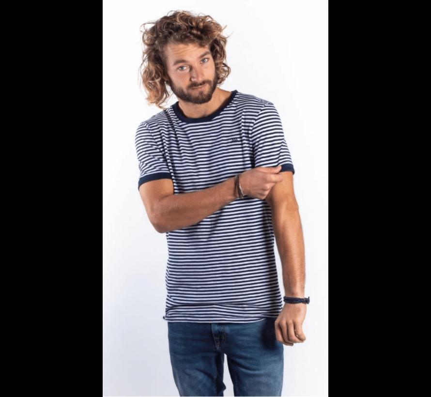 T-shirt Coen streep (AM1901-304514)