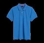 Gant Polo regular fit Konings Blauw (252105 - 424)