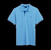 Gant Polo regular fit Licht Blauw (252105 - 457)
