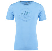New Zealand Auckland T-Shirt Tauranga Spring Blauw (19BN706 - 280)
