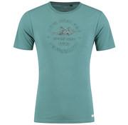 New Zealand Auckland T-Shirt Tauranga Dusty Groen (19BN706 - 485)