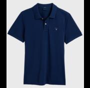 Gant Polo korte mouw Persian Blauw (2201 - 423)