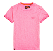Superdry T-shirt Low Roller Tee Roze (M10101RT - PS4)