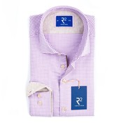 R2 Amsterdam overhemd paars (100.WSP.19 - 067)