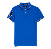 Superdry polo blauw (M11004ER - FDG)