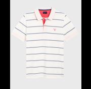 Gant Polo korte mouw streep Wit (2022058 - 113)
