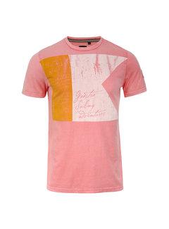 Gaastra T-shirt Flagline roze (135.7400.181 - P057)