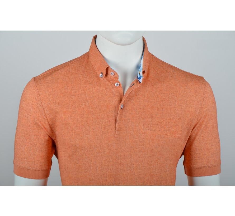 Polo Button Down Modern Fit Oranje (215051 - 91)