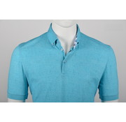 Culture Polo Button Down Modern Fit Turquoise (215051 - 51)