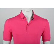 Culture Polo Button Down Modern Fit Roze (215059 - 82)