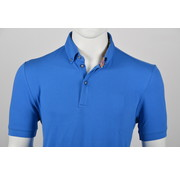 Culture Polo Button Down Modern Fit Kobalt Blauw (215059 - 33)