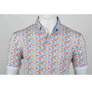 Culture Polo Button Down Modern Fit Print Multicolor (215062 - 84)