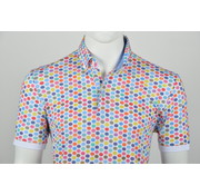 Culture Polo Button Down Modern Fit Print Multicolor (215064 - 84)