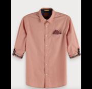Scotch & Soda Overhemd print Roze (148842 - 0217)