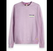 Scotch & Soda Sweater Paars met logo (148952 - 0504)