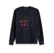 Scotch & Soda Crewneck met multicolour logo (148955 - 0002)