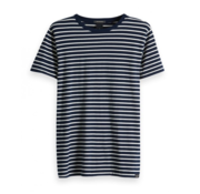 Scotch & Soda T-shirt Donkerblauw Streep (149002 - 0217)