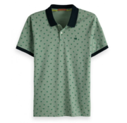 Scotch & Soda Polo Groen Palmbomen (149077 - 0220)