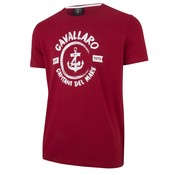 Cavallaro Napoli T-shirt print Rood (1791006 - 40000)