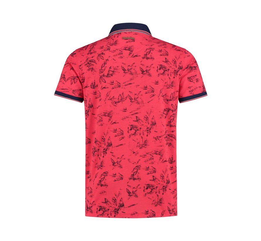 Korte Mouw Polo Coral Red  (91.03.310)