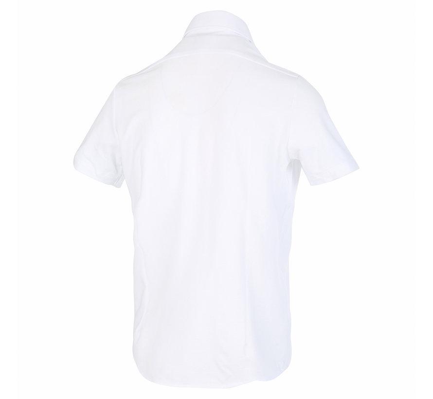 Korte Mouw Overhemd Wit (1128.91)