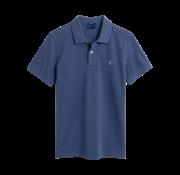Gant Polo korte mouw blauw (2201 - 902)