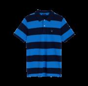 Gant Polo korte mouw blauw (222110 - 424)