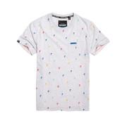 Superdry T-shirt Palmboom Grijs (M10101ET - ZXU)