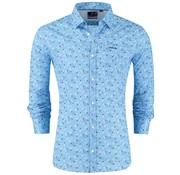 New Zealand Auckland overhemd Paringa Blauw (19BN565 - 280)
