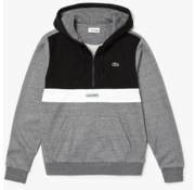 Lacoste Sweater Zwart, Grijs, Wit (SH3505 - 6NB)