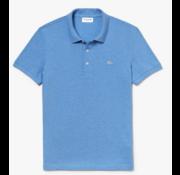 Lacoste Polo gevlamd Blauw Slim Fit Stretch (PH4014 - EUA)