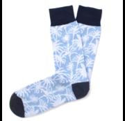 Tresanti Sokken Palmboom print blauw (TCSODB010B)