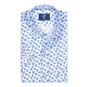 R2 Amsterdam Overhemd Korte Mouw Blauw (105.HBDSS.004 - 014)