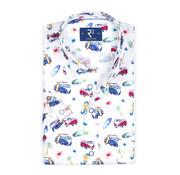 R2 Amsterdam Overhemd Korte Mouw (105.HBDSS.028 - 073)