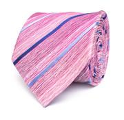 Tresanti Roze gestreepte zijden stropdas (TCTICA025C)
