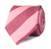 Tresanti Zijden das Roze brede streep (TCTIDA113C)