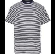 Tommy Hilfiger T-shirt Streep Navy/Wit (DM0DM05515 - 002)
